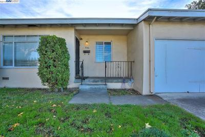 Hayward CA Single Family Home For Sale: $570,000