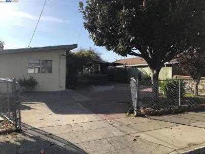 Hayward CA Single Family Home New: $490,000