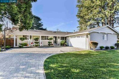 Walnut Creek CA Single Family Home New: $1,038,000