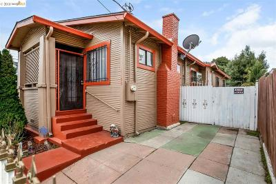 Oakland Single Family Home New: 1166 Elmhurst Ave
