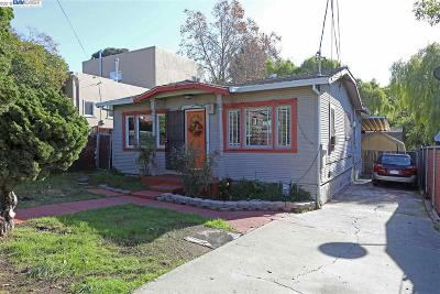 Oakland Single Family Home New: 2814 Frazier Ave
