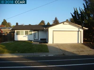 San Pablo CA Single Family Home New: $575,000