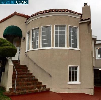 San Francisco Single Family Home For Sale: 150 Hazelwood Ave