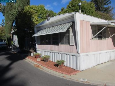 Concord Mobile Home For Sale: 1080 San Miguel Road