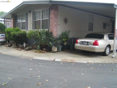 Antioch Mobile Home For Sale: 76 S Creekside Dr