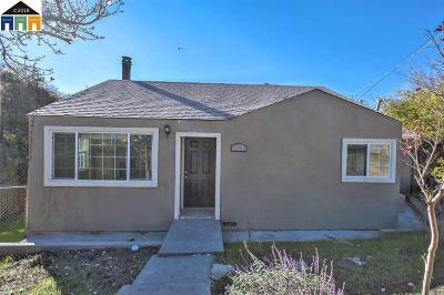 El Sobrante CA Single Family Home New: $549,900