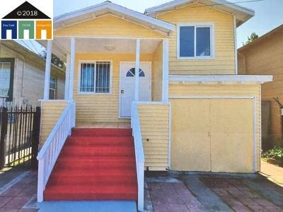 Oakland CA Single Family Home New: $539,000