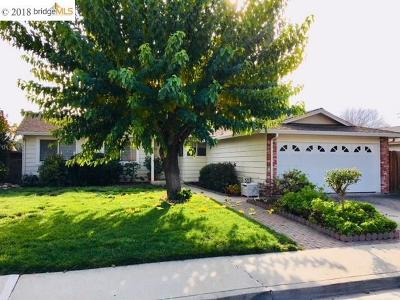 Pleasanton Single Family Home Pending Show For Backups: 4130 Alvarado St