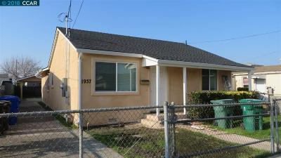 San Pablo Single Family Home For Sale: 1937 16th St