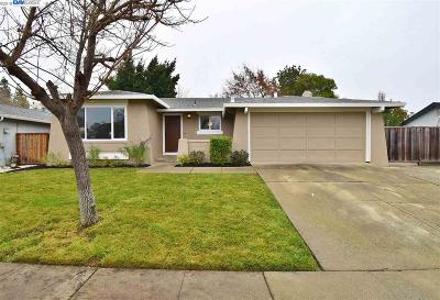 Pleasanton Single Family Home Pending Show For Backups: 6186 Alvord Way