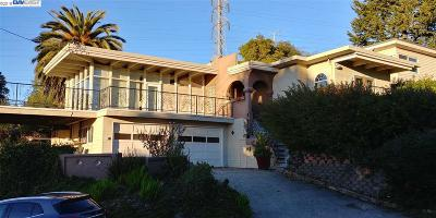 El Cerrito CA Single Family Home For Sale: $1,188,000
