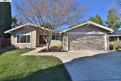 Pleasanton Single Family Home Pending Show For Backups: 6026 Allbrook Circle