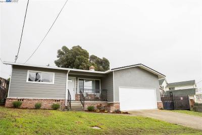San Pablo Single Family Home Pending Show For Backups: 1638 Bayo Vista Ave