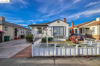 Oakland Single Family Home Pending: 1101 103rd Ave