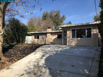 Concord Single Family Home For Sale: 2017 Overhill Rd