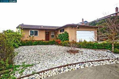 Pinole Single Family Home Pending Show For Backups: 219 Brenda Ct