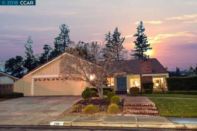 Walnut Creek Single Family Home Pending Show For Backups: 2901 Lavender Dr