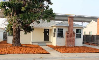 San Leandro Single Family Home Pending Show For Backups: 14939 Western Ave