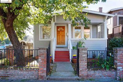 Oakland Single Family Home Pending: 7879 Garfield Ave