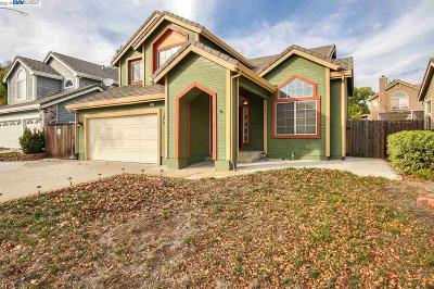 Antioch Single Family Home Price Change: 3937 E Larkspur Dr