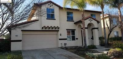 Antioch Single Family Home Price Change: 1958 Badger Pass Way