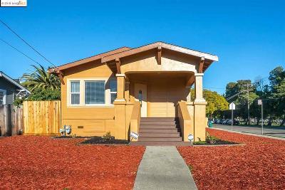 Oakland Single Family Home For Sale: 6334 Camden