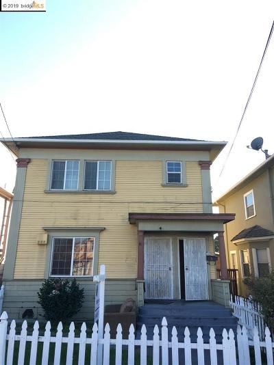 Oakland Multi Family Home For Sale: 855 34th St