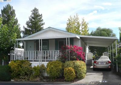 Pleasanton Mobile Home Back On Market: 3231 Vineyard Ave, #83