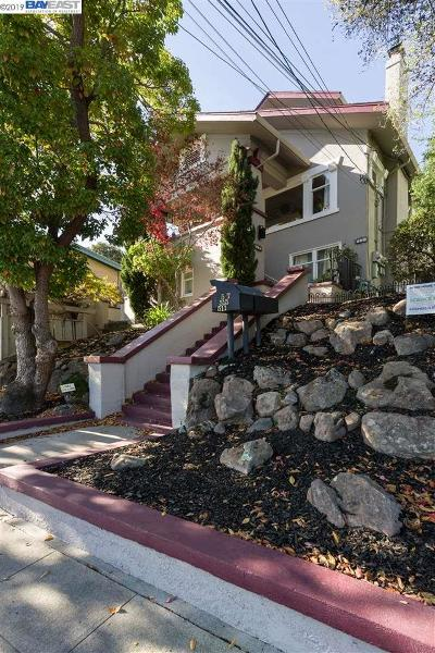 Oakland Single Family Home For Sale: 515 Valle Vista Ave