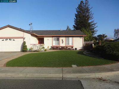 Hercules Single Family Home For Sale: 100 Toyon