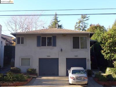 Oakland Multi Family Home For Sale: 5455 Macarthur Blvd.