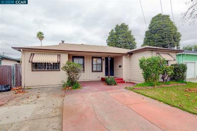 Oakland Single Family Home Pending: 9836 Maddux