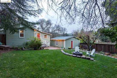 Walnut Creek Single Family Home For Sale: 1682 2nd Avenue