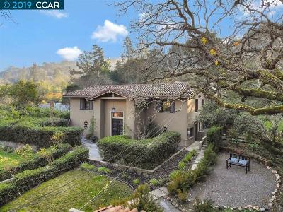 Orinda Single Family Home Pending Show For Backups: 184 Moraga Way