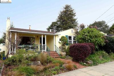 Berkeley Single Family Home For Sale: 1314 Cornell Avenue