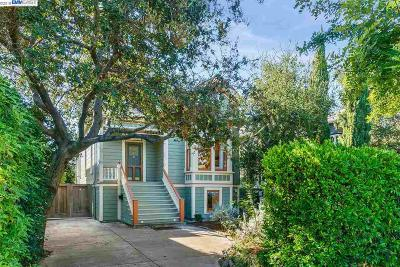 Alameda Single Family Home For Sale: 2218 San Jose Ave