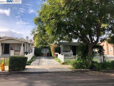 Hayward Multi Family Home For Sale: 22245 Montgomery St