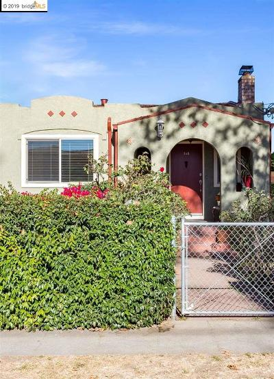Hayward Single Family Home For Sale: 248 B St