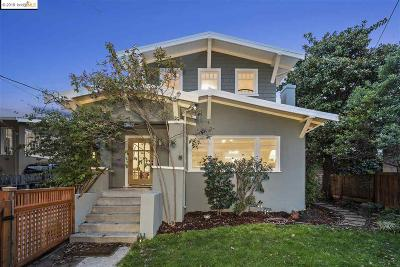 Berkeley Single Family Home For Sale: 853 Colusa Ave