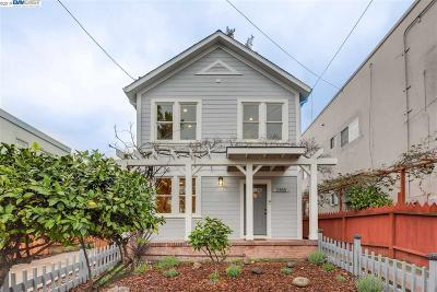 Berkeley Single Family Home For Sale: 2355 Woolsey St