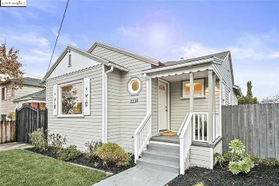 Oakland Single Family Home For Sale: 2239 109th