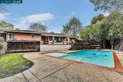 Walnut Creek Single Family Home For Sale: 22 Shady Lane Ct