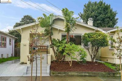 Oakland Single Family Home For Sale: 745 45th St