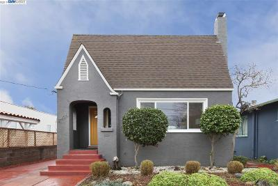 Oakland Single Family Home For Sale: 2456 Havenscourt Blvd