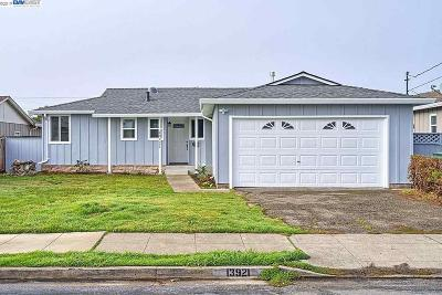 San Leandro Single Family Home For Sale: 13921 Tahiti Rd