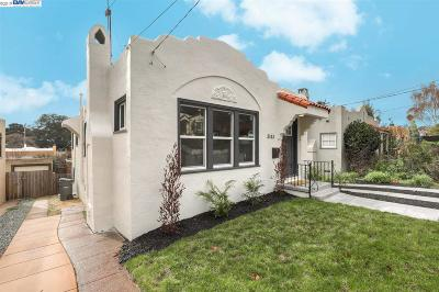 Oakland Single Family Home For Sale: 3143 California St