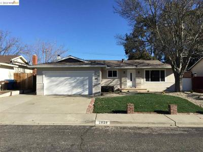 Antioch Single Family Home For Sale: 2829 Vista Way