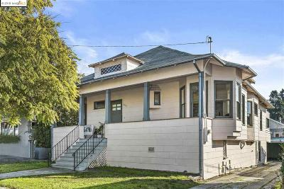 Oakland Single Family Home New: 5483 Taft Ave