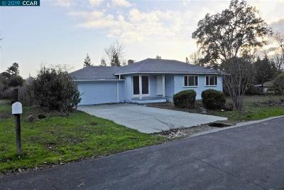 Alamo, Danville, San Ramon, Dublin, Pleasanton, Livermore Single Family Home New: 56 Diablo Way