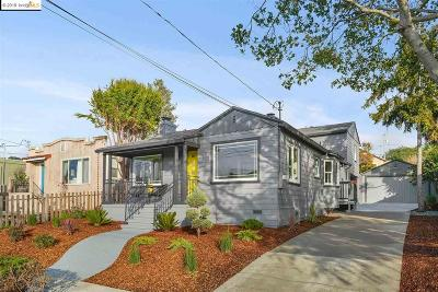 El Cerrito Single Family Home New: 132 San Carlos Ave